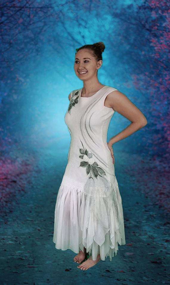 Wadenlange kleider hochzeit