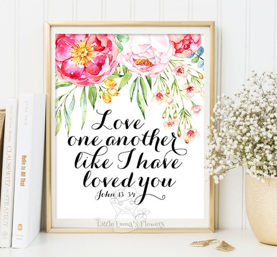 wedding bible verse marriage quotes love wall art printable etsy