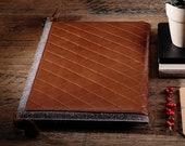 Felt Macbook case Leather Macbook sleeve Macbook pro 15 case Leather laptop sleeve 15 inch laptop case Brown padded Macbook bag