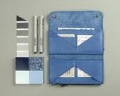 Genuine leather for women Minimalist slim wallet purse Italian leather card wallet