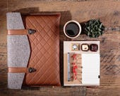 Macbook pro 13 case Brown leather Macbook sleeve Genuine leather laptop bag Macbook pro Retina leather case Macbook 13 inch case