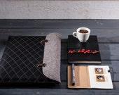 "MacBook 13""3 pro sleeve bag for macbook pro 13 cases leather wool felt handbag sleeves laptop sleeve leather Macbook sleeve leather laptop"