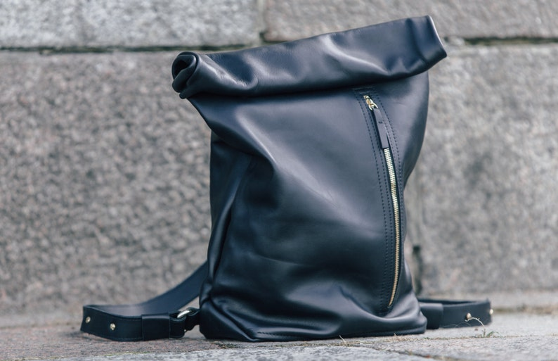 069db67067b3 Leather backpack Leather rucksack Handmade Satchel Leather bag