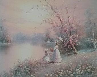 P minton oil painting,  20 x 24