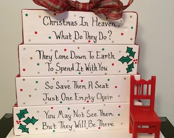 Heaven's Chair - Christmas In Heaven, What Do They Do?