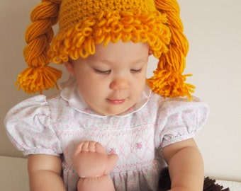 Cabbage Patch Hat Wig 8f8f1529e86