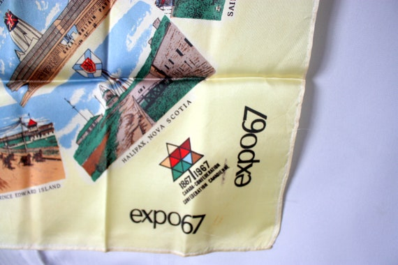 Expo 67 Scarf, Expo 67 Scarf, Montreal 1967 Souve… - image 5