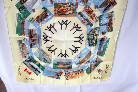 Expo 67 Scarf, Expo 67 Scarf, Montreal 1967 Souve… - image 4