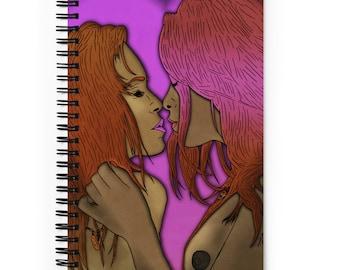 Kiss II spiral notebook