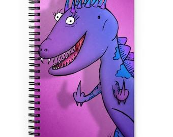 Fukoffasaurus Spiral Notebook