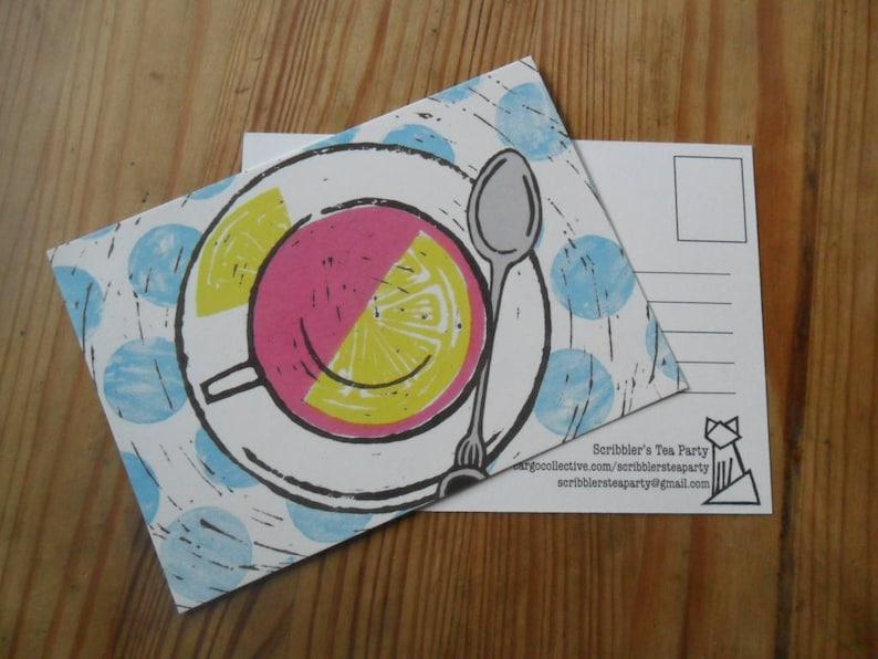 Cup of tea Postcard
