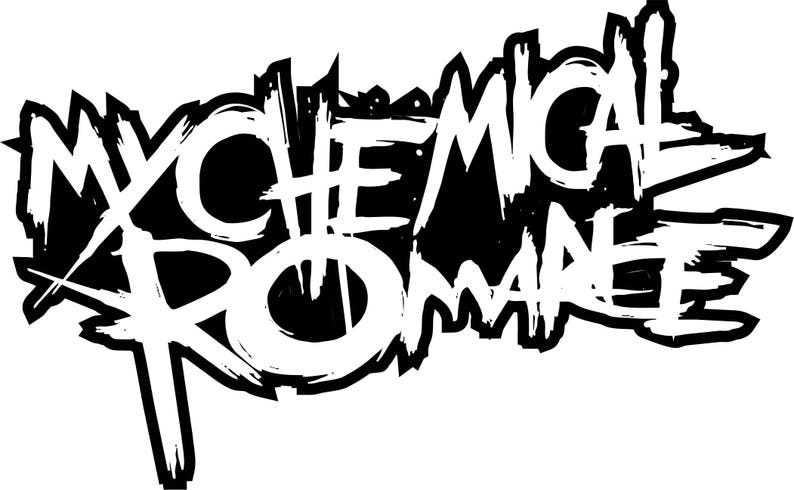 My Chemical Romance Vinyl Sticker Decal logo full color  80bb1d8375c1