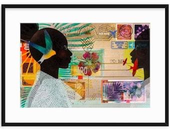 NOTE TO SELF, Women of Color, Women Illustration, Travel Inspiration, Black Artist