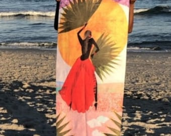 MARTINE, 30Wx60L,Beach Towels