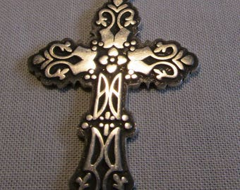 Sterling Silver Cross Pendant from Mexico