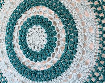 PDF Crochet Pattern, Hanging Mandala, DreamCatcher 78cm