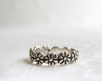 Flower Ring Etsy
