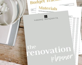 The Renovation Planner | Organize Your Home Remodel Projects with Ease
