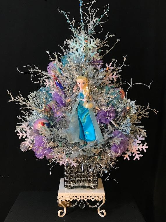 Olaf Christmas Trees.Frozen Christmas Tree Frozen Ornaments Frozen Christmas Decoration Frozen Christmas Trees Elsa Doll Olaf Ornament Frozen Characters