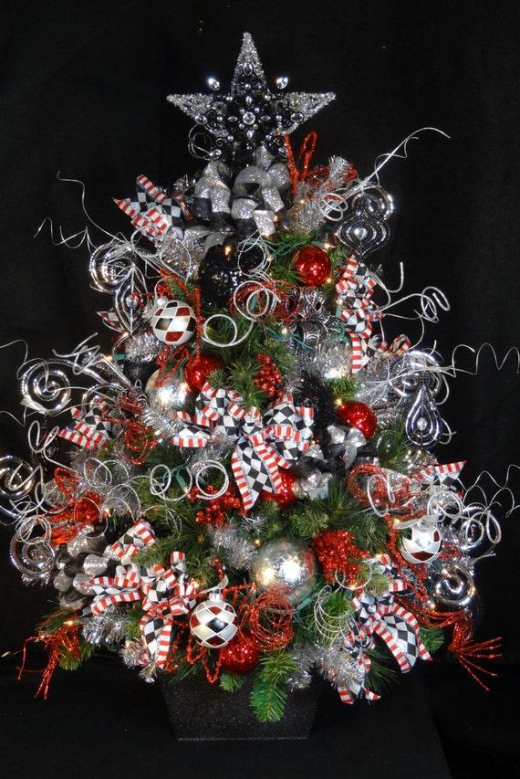 Decorated Christmas Treedecorated Christmas Treeselegant Etsy