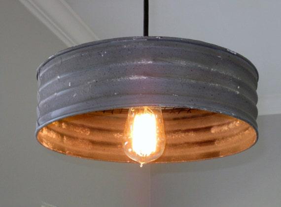 Lighting Metal Sifter Pendant Rustic Lighting Industrial Lighting Ceiling Light Kitchen Light Pendant Light