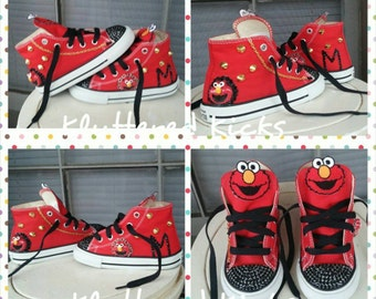 Elmo Custom Converse