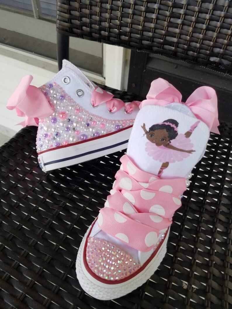 Ballerina Themed Converse