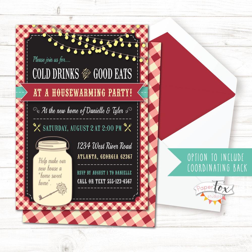 Housewarming invitation / Housewarming BBQ / Housewarming | Etsy