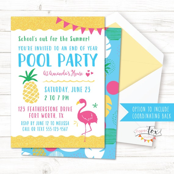 end of year party invitations end of the year party end of school