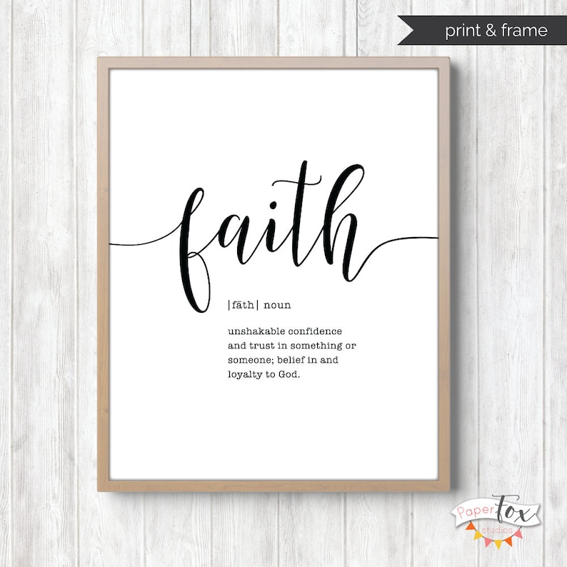 picture about Farmhouse Printable identify Religion Signal, Printable Wall Artwork, Scripture Wall Artwork, Farmhouse Decor, Farmhouse Printables, Farmhouse Wall Decor, Bible Estimate Wall Decor