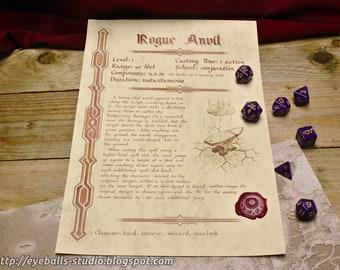 Rogue Anvil Spell