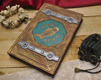 Treasure Map sketchbook