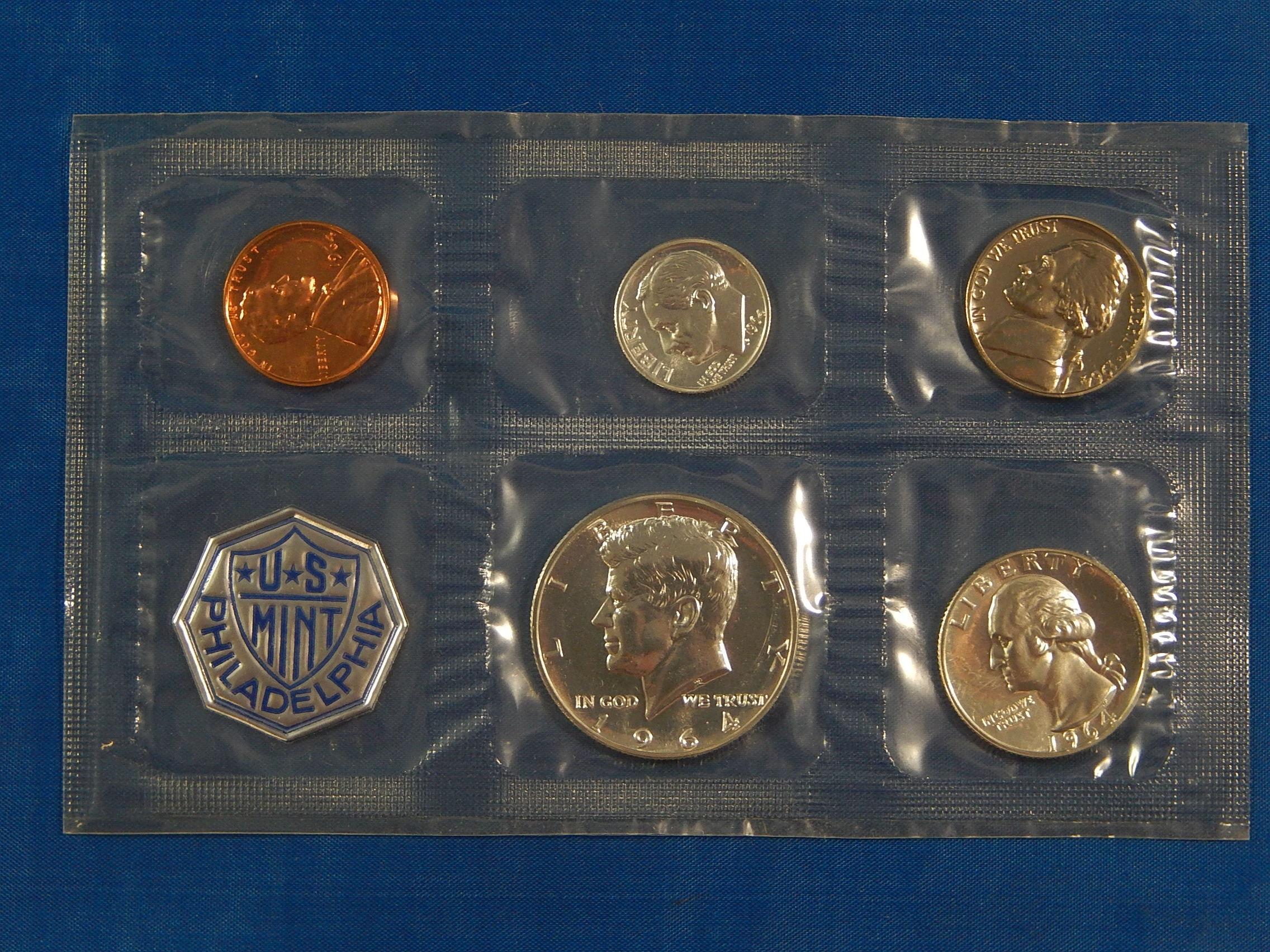 1962 US Proof Set Coins 90/% Silver Half Quarter /& Dime Special Price No Envelope