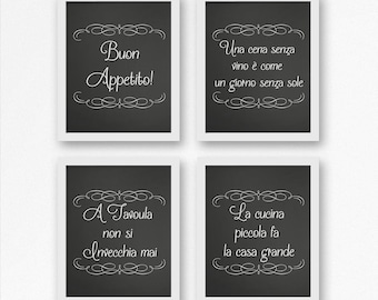 Superbe Italian Wall Art, Kitchen Decor, Wall Hangings, Italian Wall Decor, Italian  Kitchen, Italian Sayings, Chalkboard Art