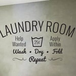 Laundry Decal - Laundry Room decal - Wall decal