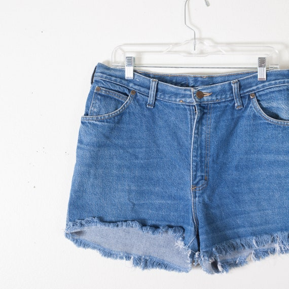 481b3272b 90s Vintage Cut Off Jean Shorts High Waist Cut off Shorts | Etsy