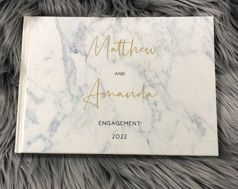 Personalised Guest Book - M+A