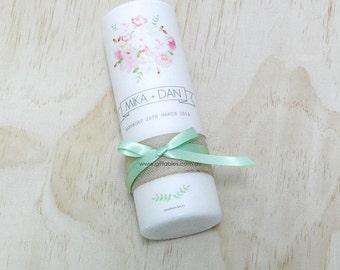 Wedding Candle - Vivid Bloom