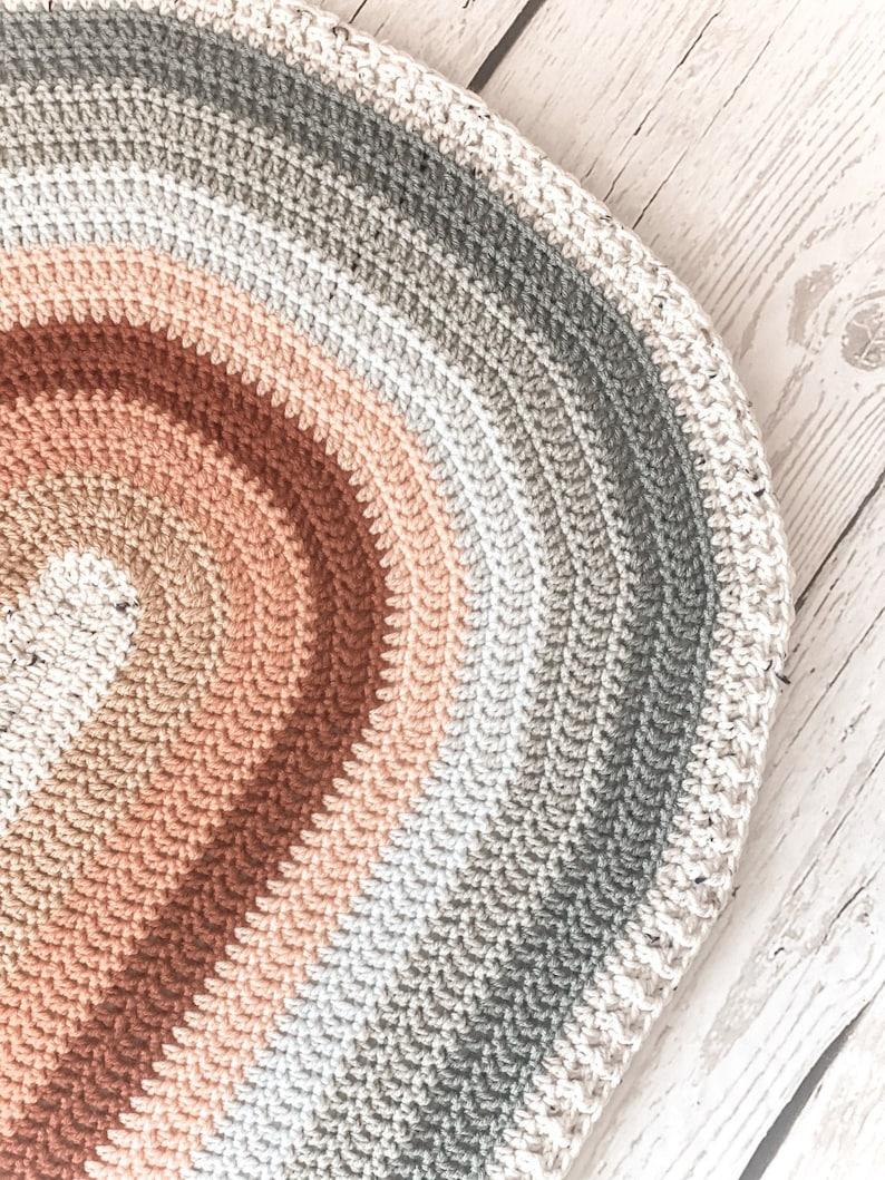 RAINBOWE  Boho Rainbow  Blanket   Crochet Pattern image 0