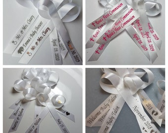 About to Pop Ribbon Mummy To Be Gift Wrap Baby Shower Ribbons New Baby