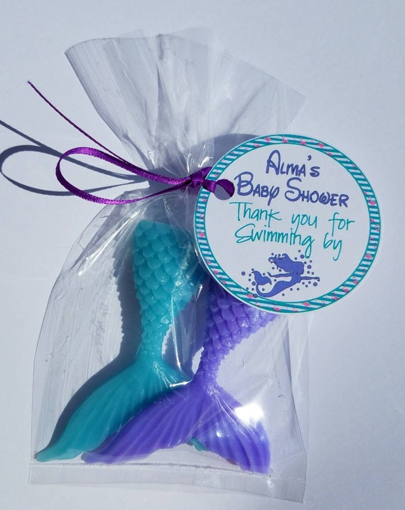 Set of 12 Under The Sea and Mermaid Party Favors Mermaid Coin Purses