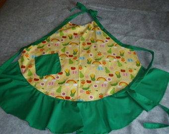 Vintage style Shabby Chic apron.