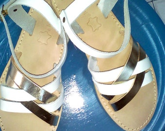 Collection 2018, Greek Leather Sandals, Ankle Strap Sandals, Gold Sandals, Handmade Sandals ,Bridal Shoes,Women Shoes, White Summer Sandals.