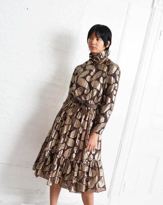 Vintage Ceil Chapman Paisley Dress - image 6