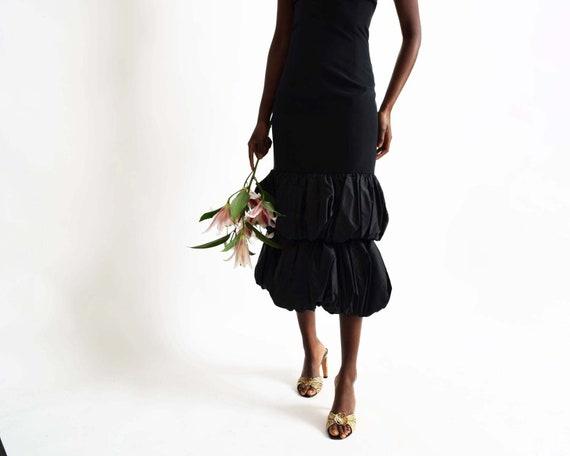 Vintage Ruffle Hem Dress - image 5