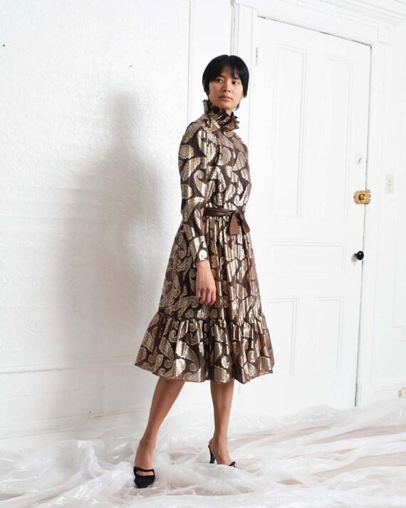 Vintage Ceil Chapman Paisley Dress - image 2