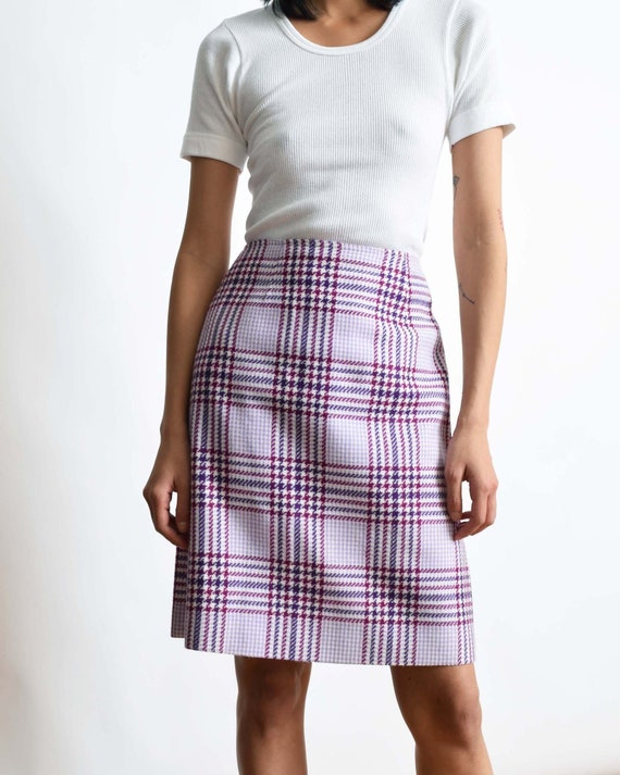 Vintage 1970s Tartan Skirt