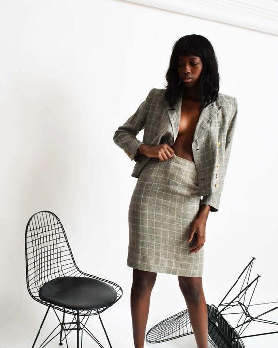 Vintage Sonia Rykiel Linen Suit