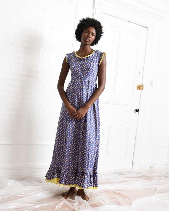 Vintage Emma Domb Prairie Dress
