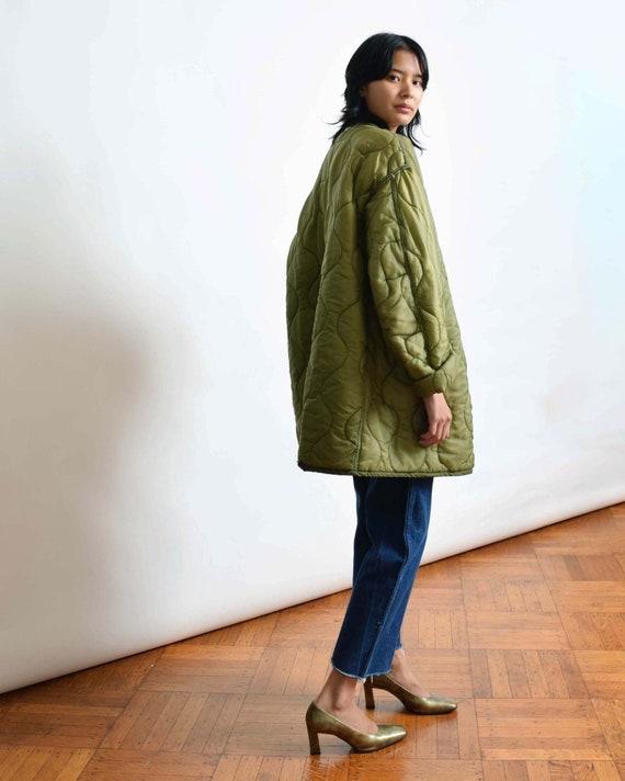 Vintage Oversized Quilted Liner Jacket S M L